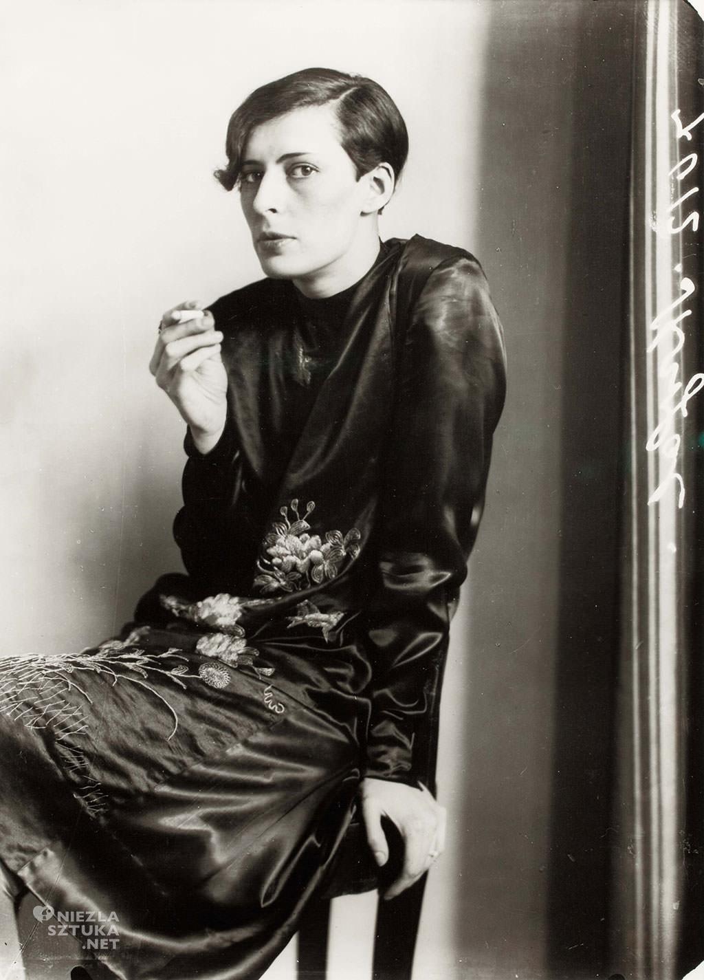 August Sander, Sylvia von Harden, fotografia, portret kobiecy, portret, Niezła Sztuka