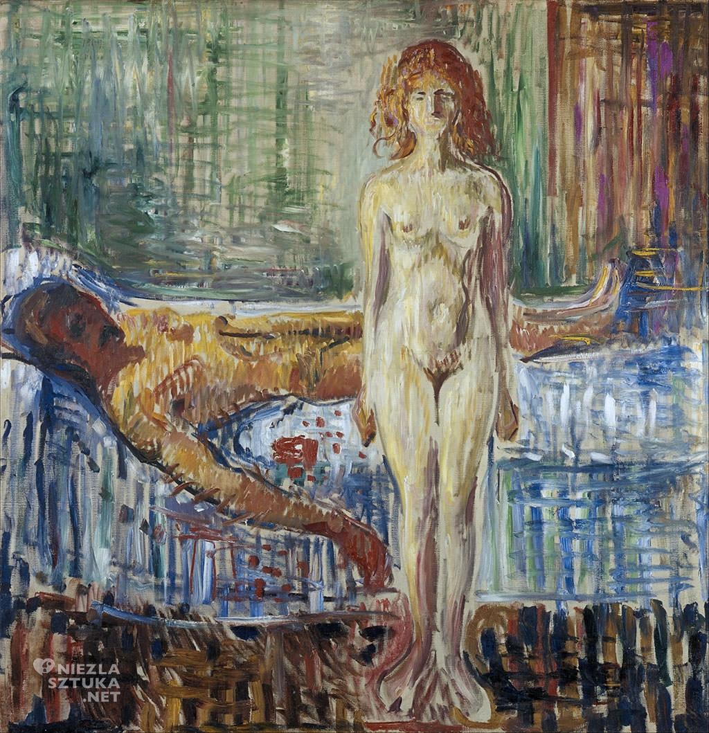 Edvard Munch, Śmierć Marata II, Niezła sztuka