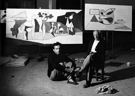 Niezła Sztuka, Michel Sima, Pablo Picasso, Michel Sima, fotografia, portret
