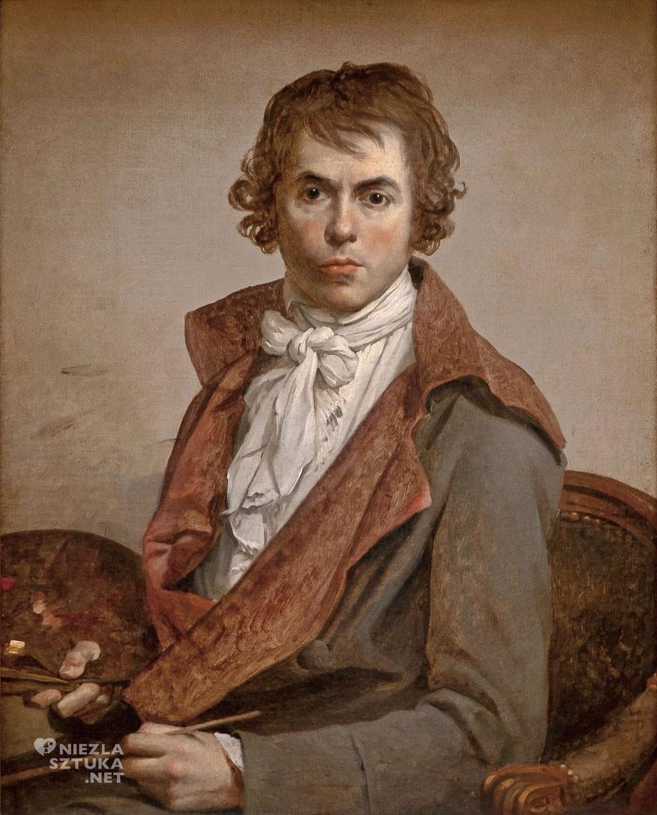 Jacques-Louis David, Autoportret, Niezła sztuka