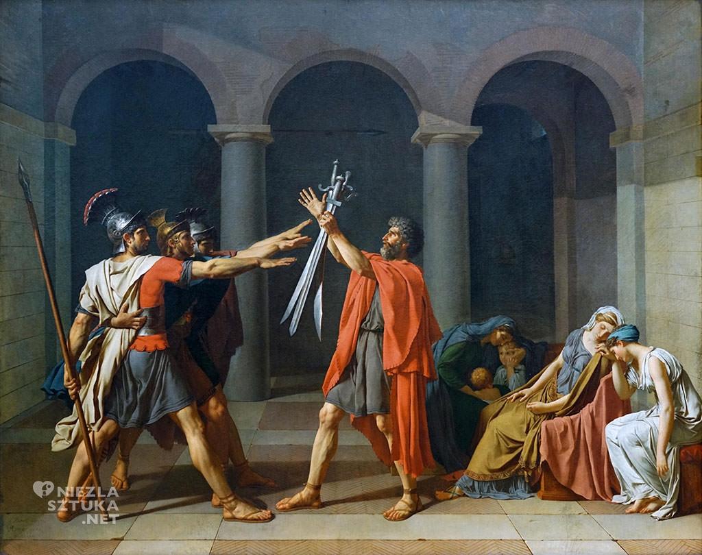 Jacques-Louis David, Przysięga Horacjuszy, Niezła sztuka