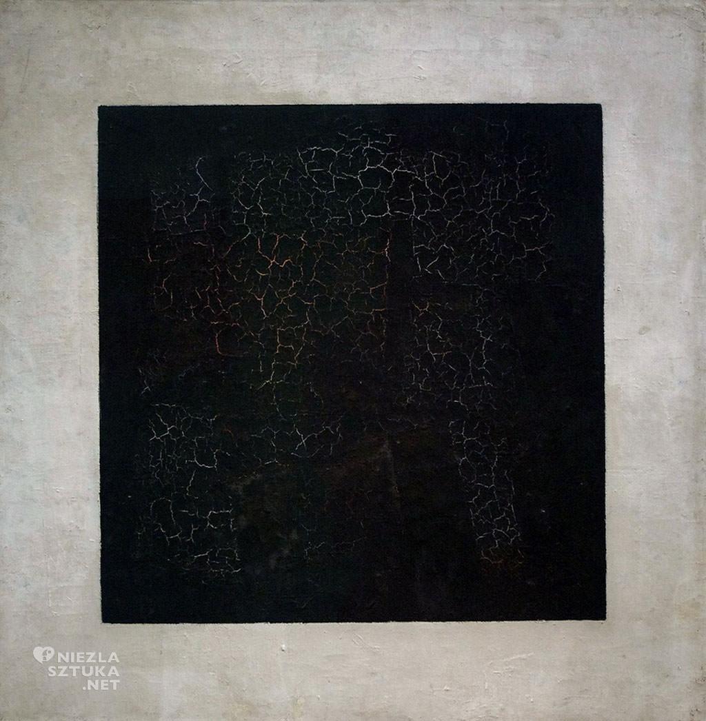 Kazimierz Malewicz, Czarny kwadrat na białym tle, malarz rosyjski, awangarda, suprematyzm, Niezła sztuka