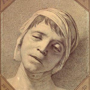 Jacques-Louis David, Głowa martwego Marata, Niezła sztuka