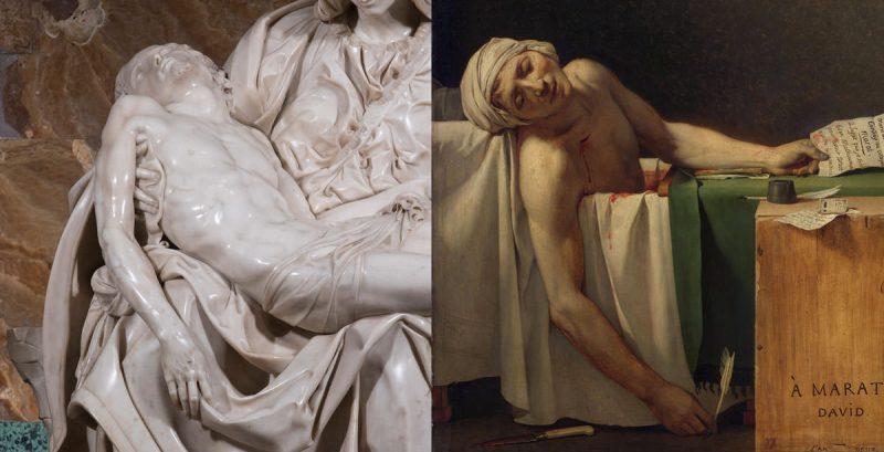 Michał Anioł Pieta, David Marat