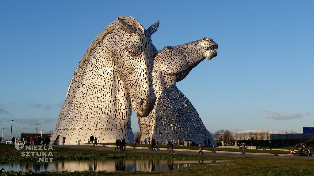 Andy Scott, Michel Curi, The Kelpies, Niezła sztuka