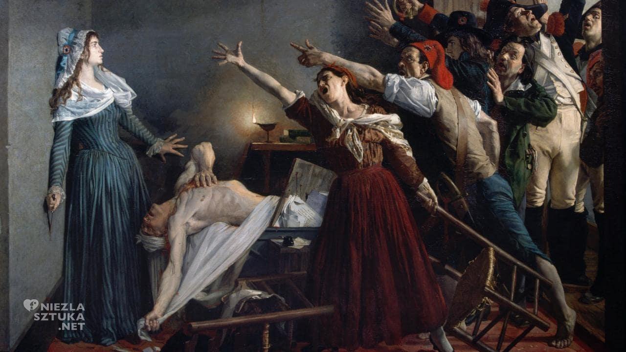 Jean-Joseph Weerts, Zabójstwo Marata, Niezła sztuka