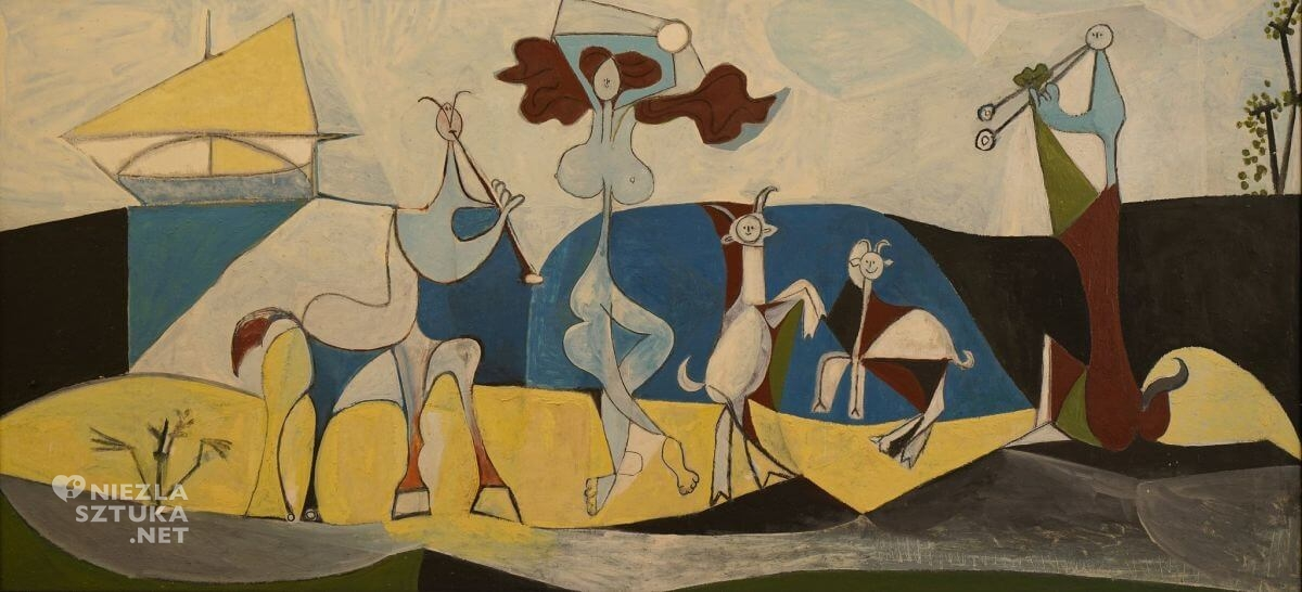 Pablo Picasso, Radość życia, kubizm, sztuka hiszpańska, sztuka XX wieku