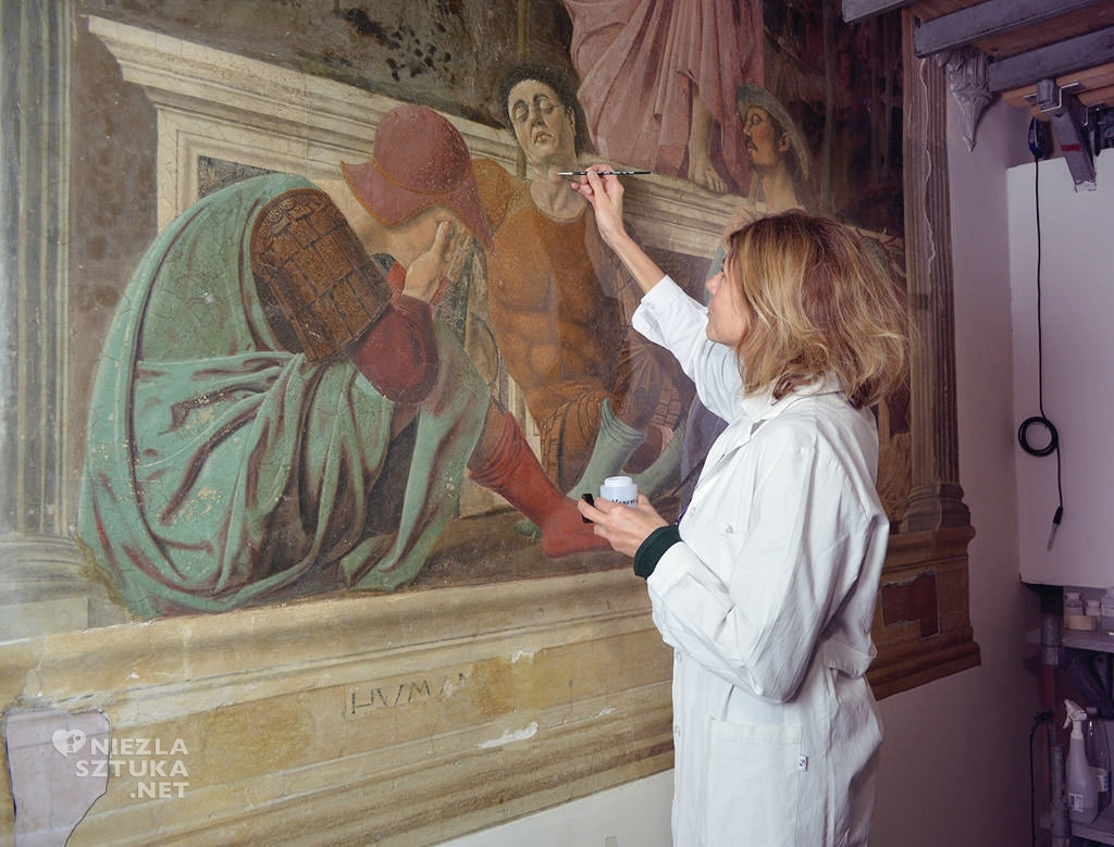 Piero della Francesca, Zmartwychwstanie, Niezła sztuka