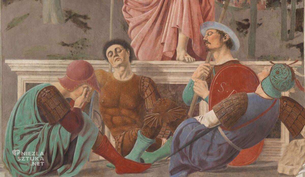 Piero della Francesca, Zmartwychwstanie, sztuka włoska, malarstwo włoskie, renesans, Niezła sztuka