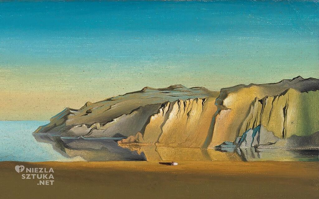 Salvador Dali, Trwałość pamięci, Miękkie zegary, Uporczywość pamięci, malarstwo hiszpańskie, surrealizm, Niezła sztuka