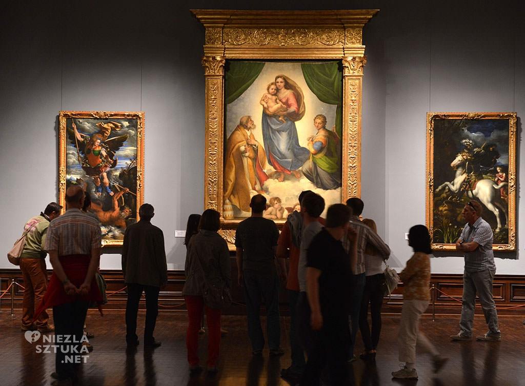 Rafael Madonna Sykstyńska, Galeria Obrazów Starych Mistrzów, Drezno