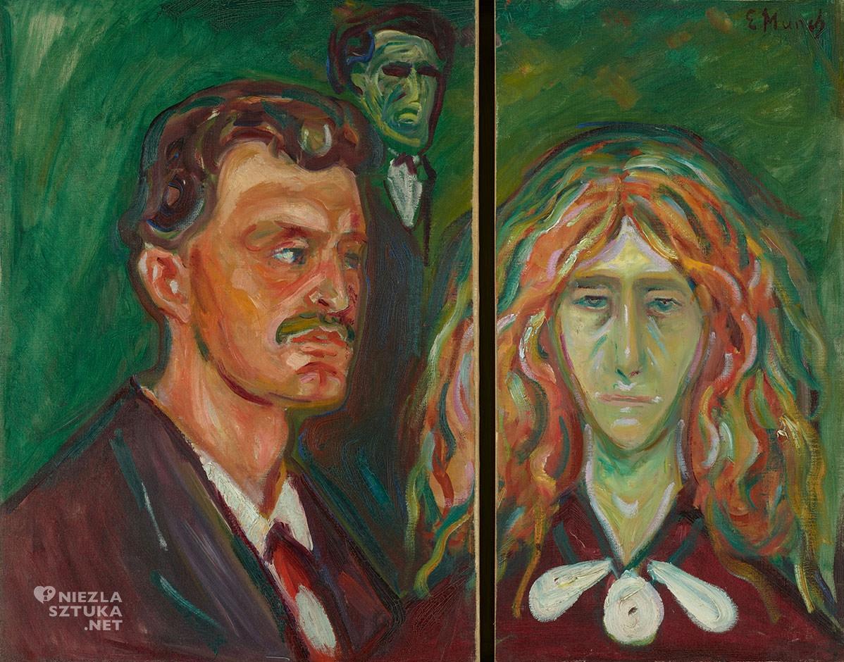 Edvard Munch, Karykaturalny portret Tulli Larsen, Niezła sztuka