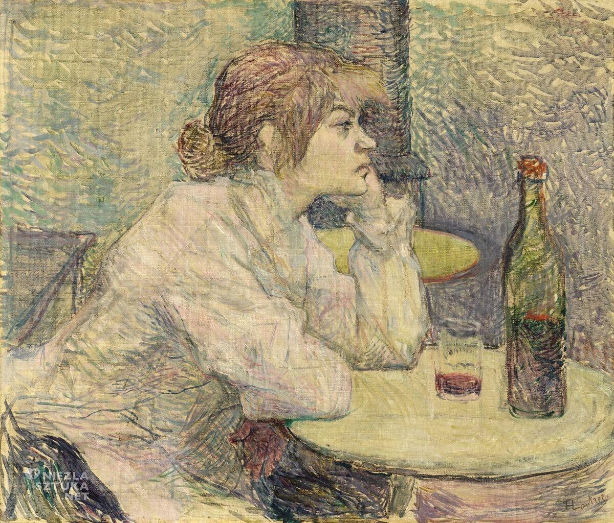 Henri de Toulouse-Lautrec, Kac, Suzanne Valadon, sztuka francuska, Niezła Sztuka