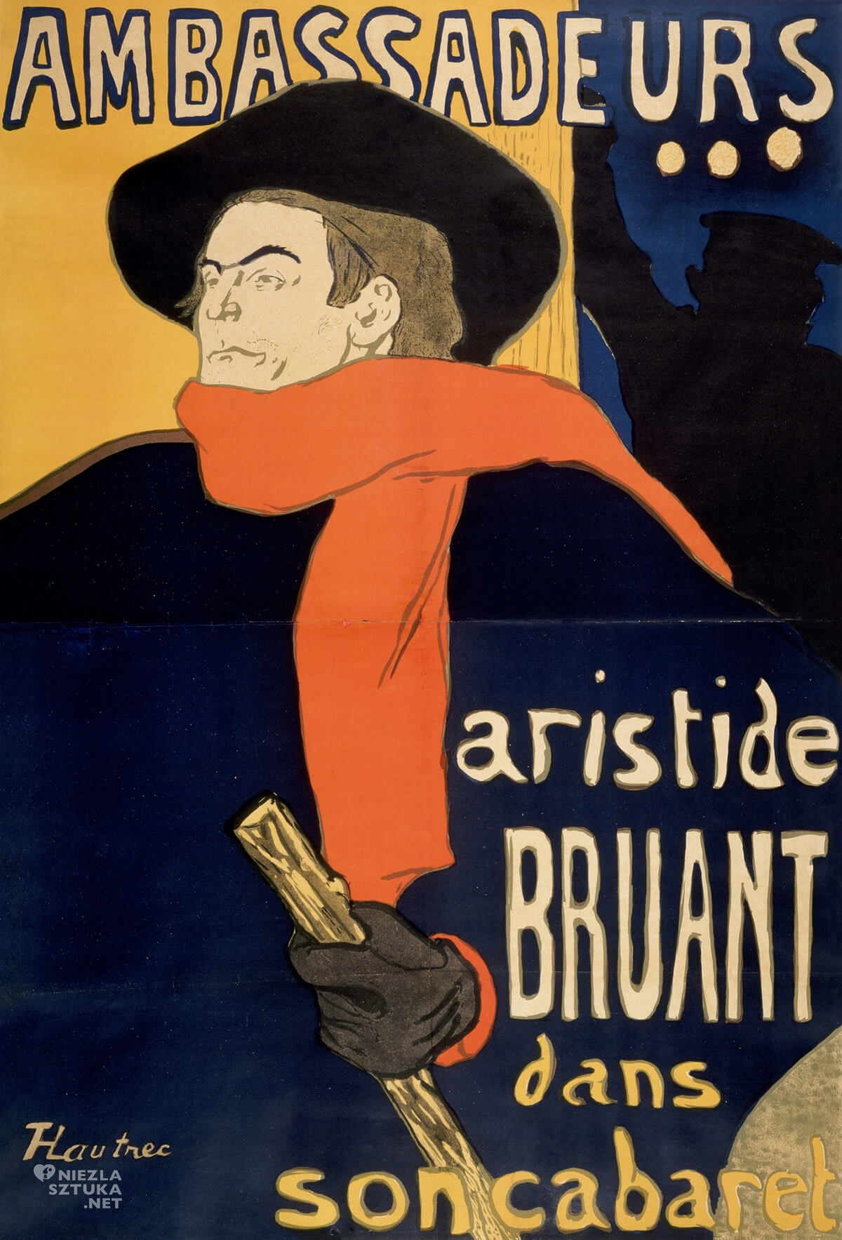 Henri de Toulouse Lautrec, Ambassadeurs, malarstwo francuskie, sztuka francuska, Niezła Sztuka
