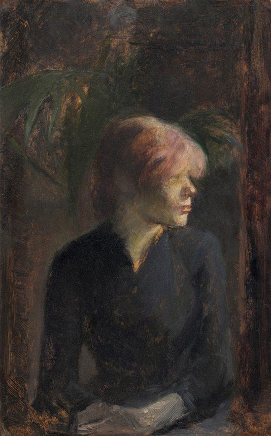 Henri de Toulouse-Lautrec, Carmen Gaudin, malarstwo francuskie, sztuka francuska, Niezła Sztuka