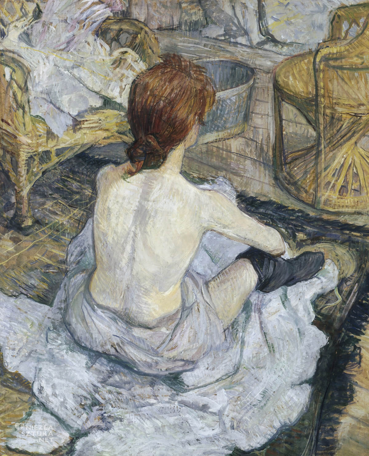 Henri de Toulouse-Lautrec, Toaleta, sztuka francuska, Niezła Sztuka