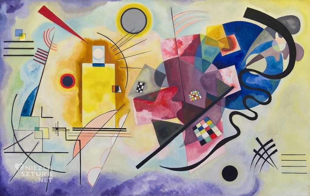 Wassily Kandinsky, Żółty Czerwony Niebieski, Niezła Sztuka