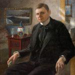 Soter Jaxa-Małachowski, Autoportret, malarz polski, sztuka polska, Niezła sztuka