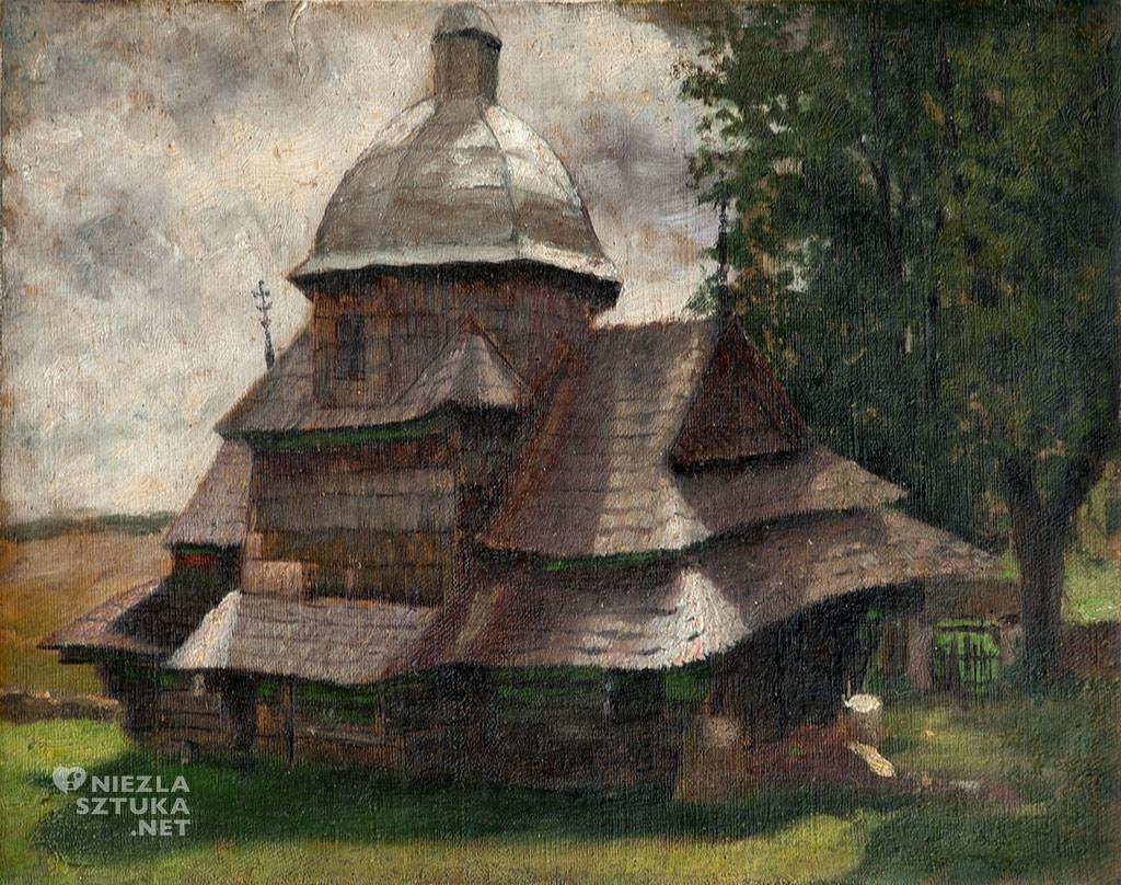 Soter Jaxa-Małachowski, Cerkiew w Kimirzu, malarstwo polskie, sztuka polska, Niezła sztuka