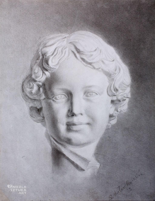 Soter Jaxa-Małachowski, studium rzeźby, sztuka polska, malarstwo polskie, Niezła sztuka