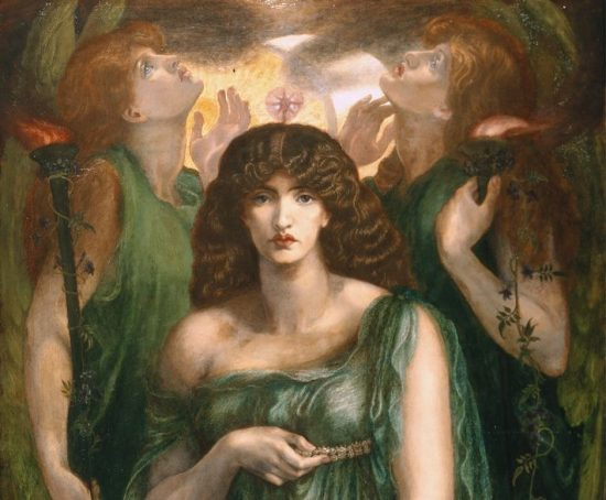 Dante Gabriel Rossetti, Astarte Syriaca, prerafaelici, sztuka brytyjska, Niezła Sztuka