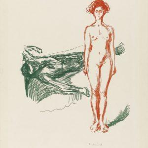 Edvard Munch, Śmierć Marata, Niezła sztuka