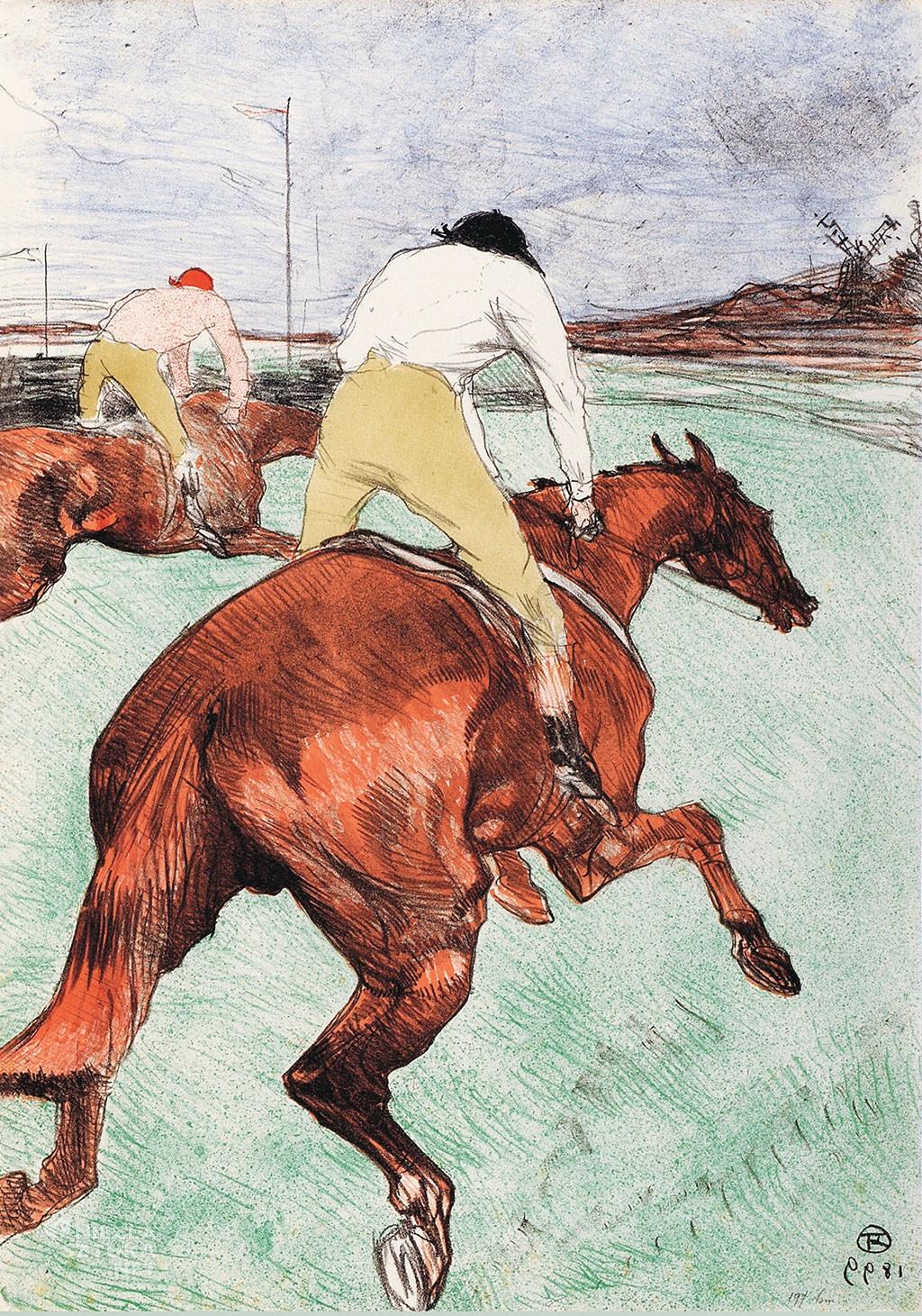Henri de Toulouse-Lautrec, plakaty, Niezła sztuka