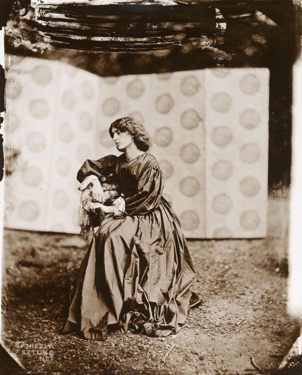 Jane Morris, 1865, © National Portrait Gallery, Londyn, Niezła sztuka