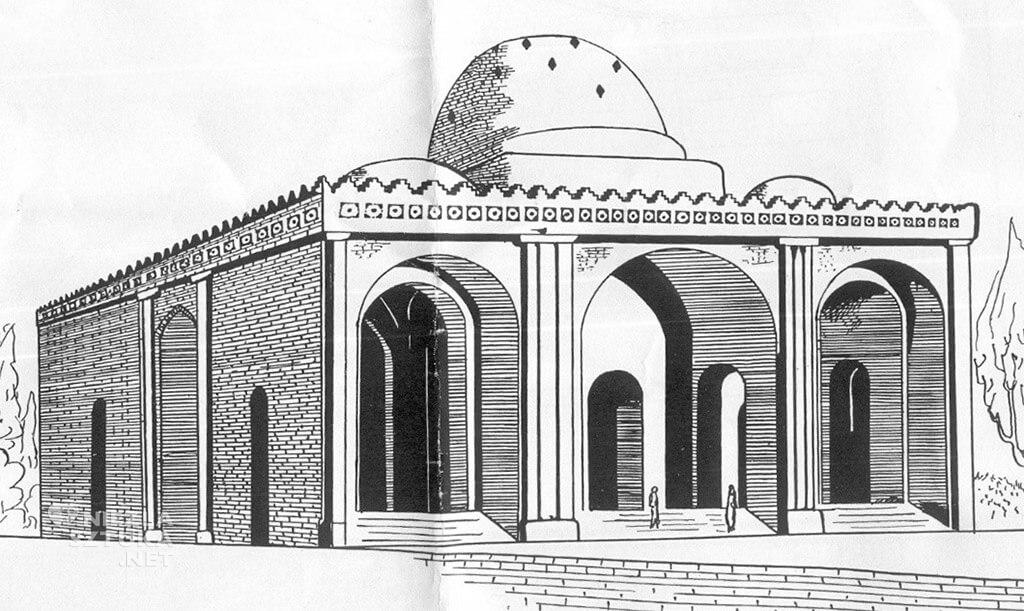 Sarwestan, Pałac Sasanidzki