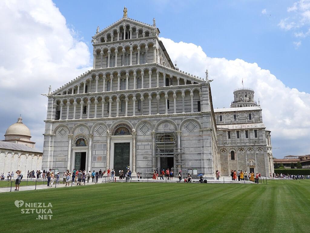 krzywa wieża w Pizie, katedra, Włochy, Piza, Niezła sztuka