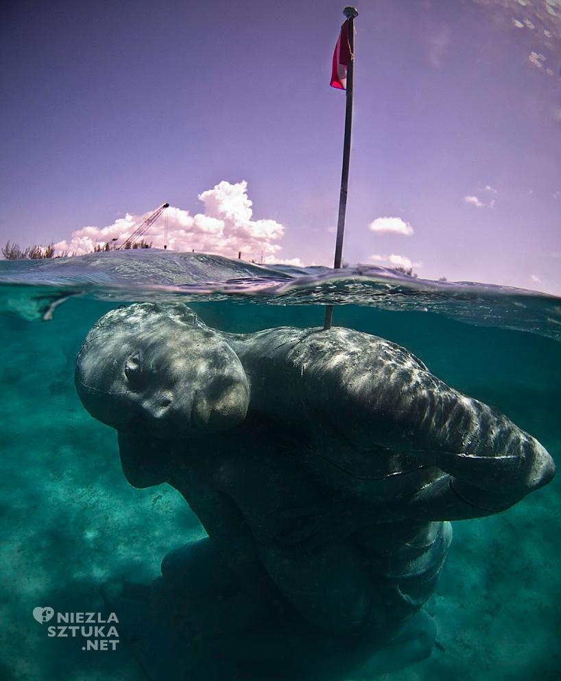 Jason Decaires Taylor, Ocean Atlas, rzeźba podwodna, Niezła Sztuka