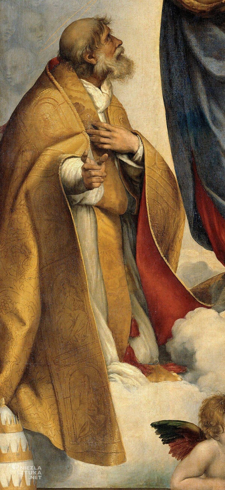 Rafael Santi, Madonna Sykstyńska, św. Sykstus, sztuka włoska, Niezła sztuka