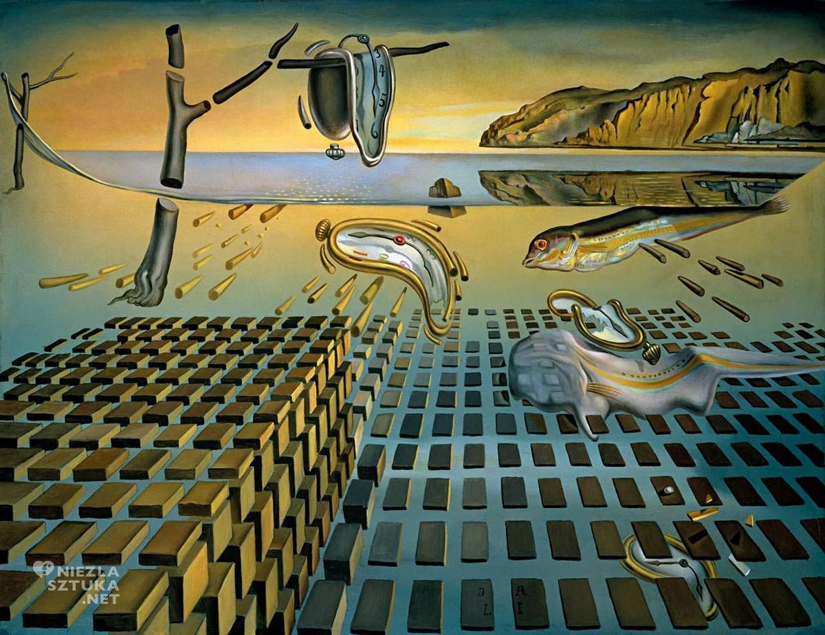 Salvador Dali, Dezintegracja Trwałości pamięci, The Salvador Dali Museum, St Petersburg, Floryda, Salvador Dali, Gala Dali, Niezła sztuka