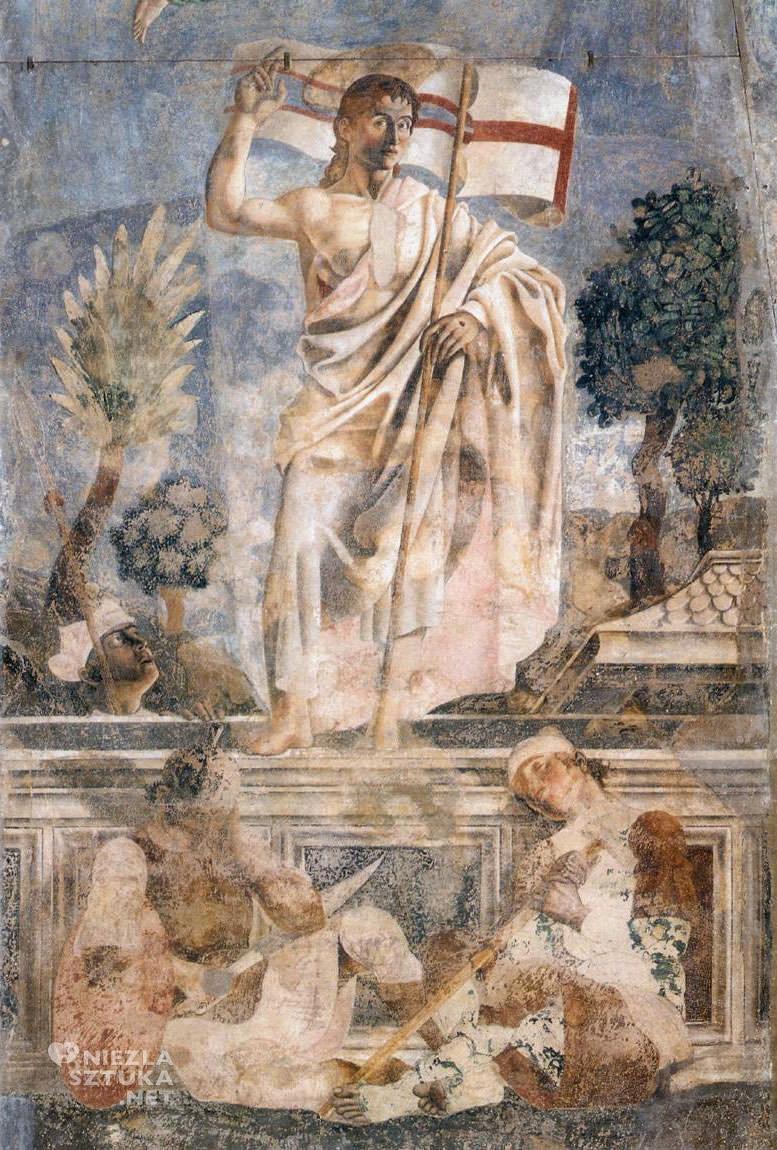 Andrea del Castagno, Zmartwychwstanie, Niezła sztuka