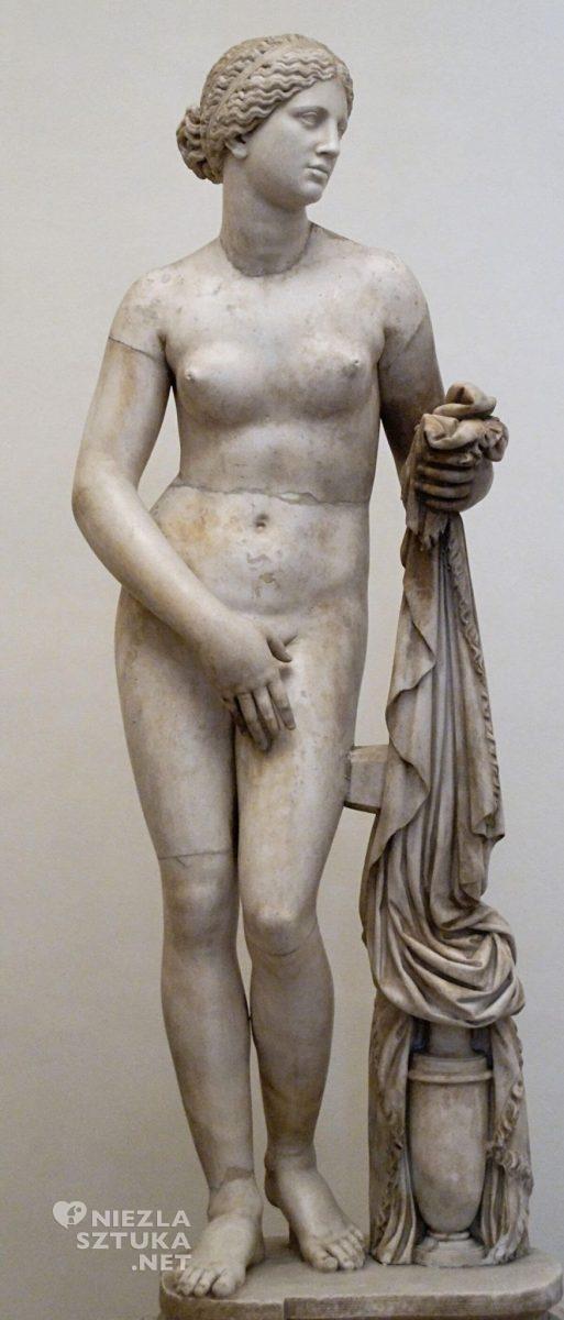 Afrodyta z Knidos, rzeźba, Niezła sztuka