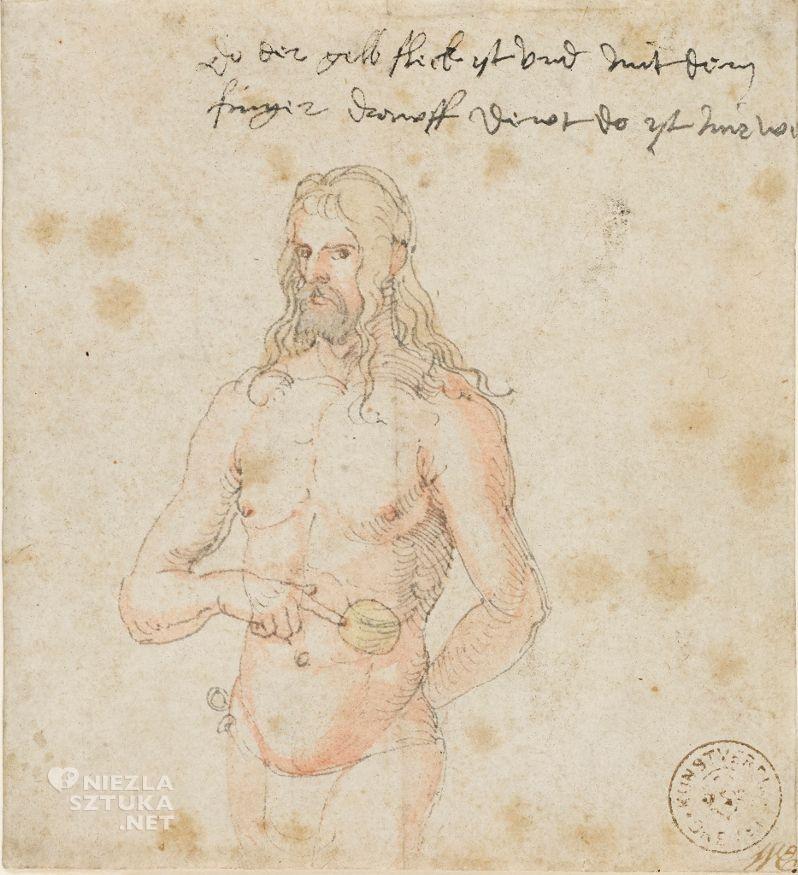Albrecht Durer, Autoportret, chory, tu mnie boli, Niezła sztuka