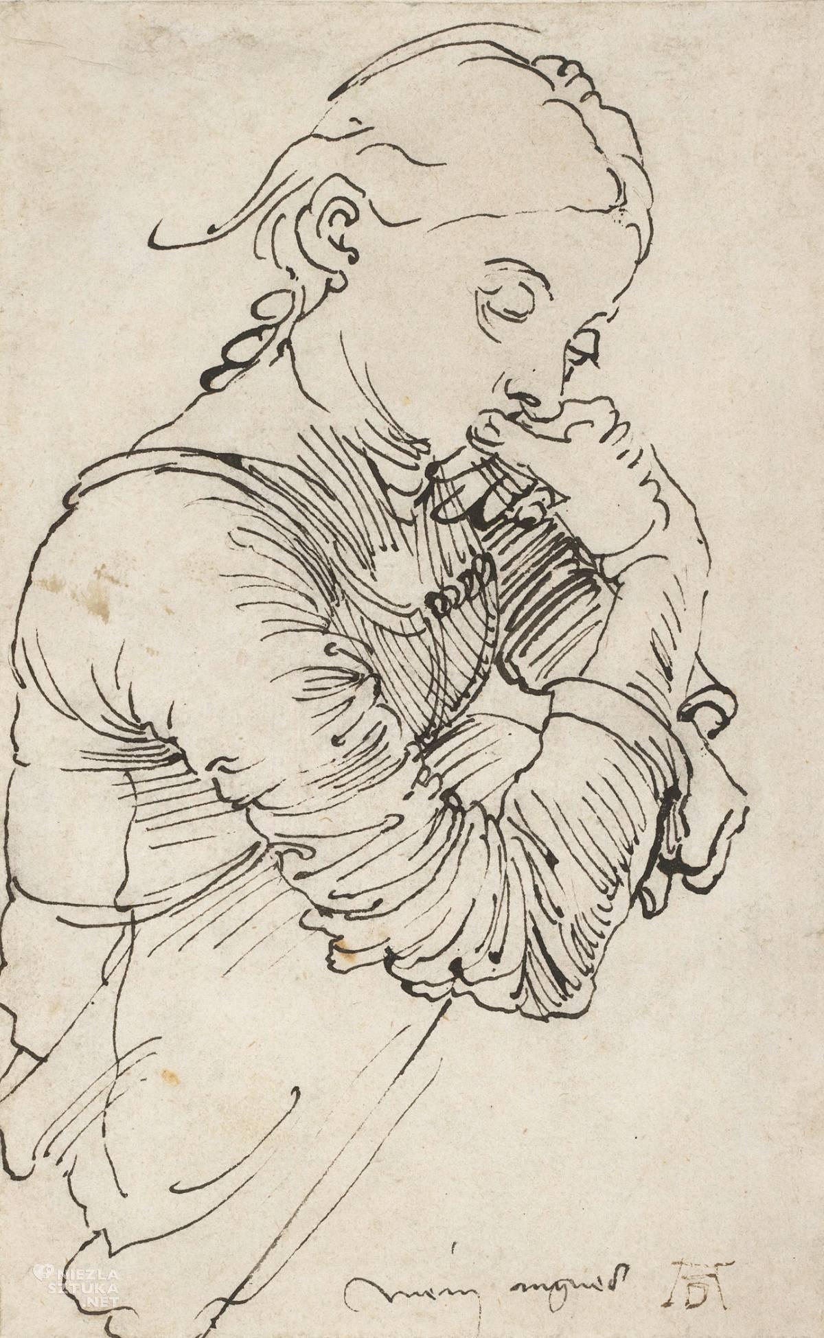 Dürer, Albrecht Durer, Moja Agnes, Agnes Durer, żona, Niezła sztuka