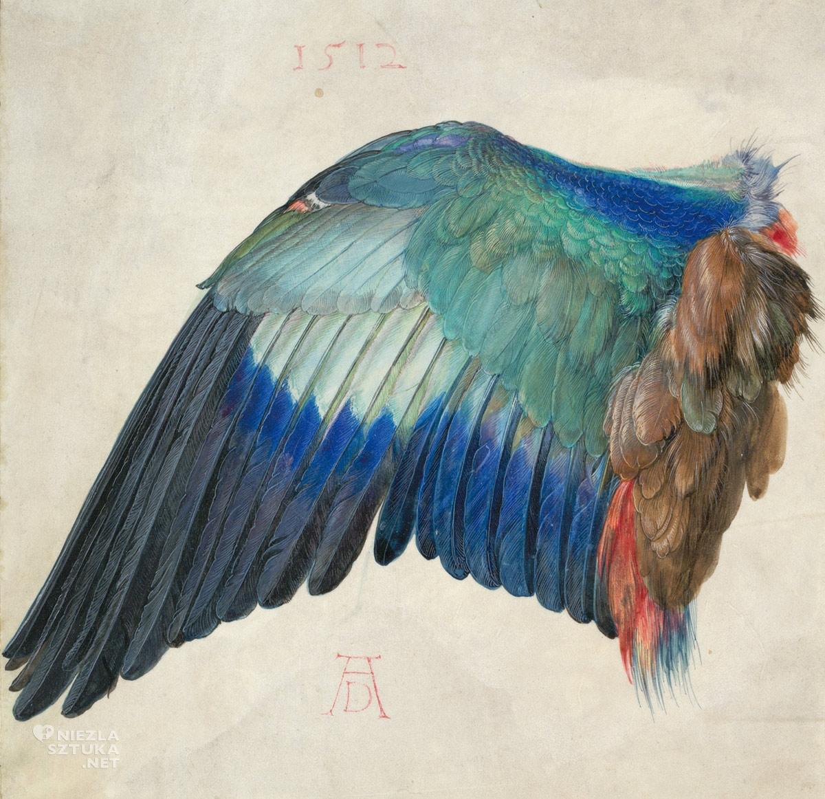 Albrecht Durer, Lewe skrzydło Kraski, Niezła sztuka