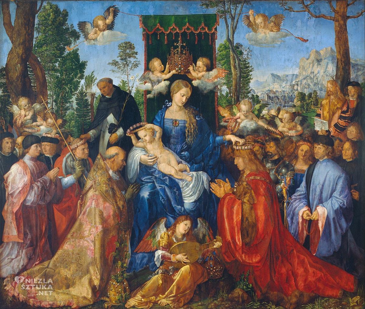 Albrecht Durer, Święto Różańcowe, Niezła sztuka