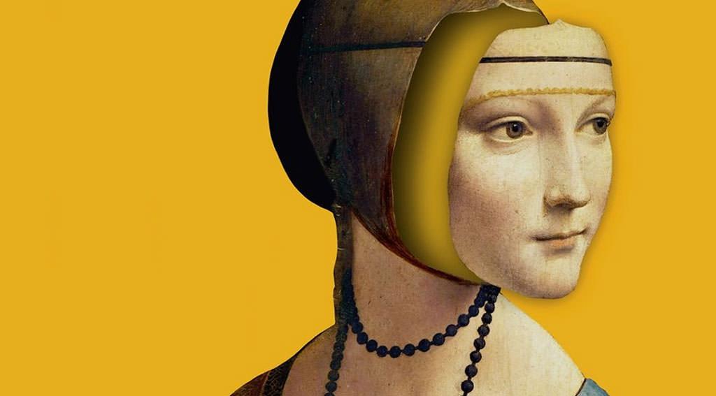 Bik Najdroższa Dama z gronostejm, Dama z łasiczką, książka