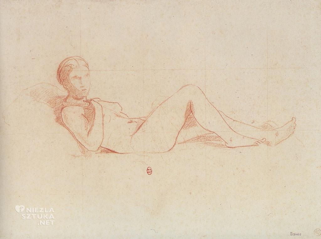 Édouard Manet, Studium do Olimpii, Olimpia, szkic, akt, Niezła sztuka