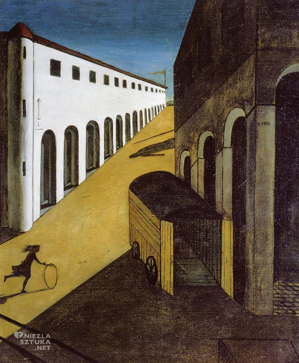Giorgio de Chirico, surrealizm, melancholia i tajemnica ulicy, Niezła sztuka