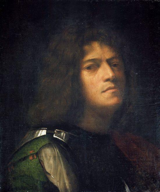 Giorgione, Autoportret, Niezła sztuka