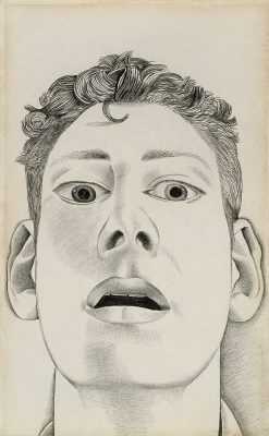 Lucian Freud, Autoportret, sztuka brytyjska, Niezła sztuka