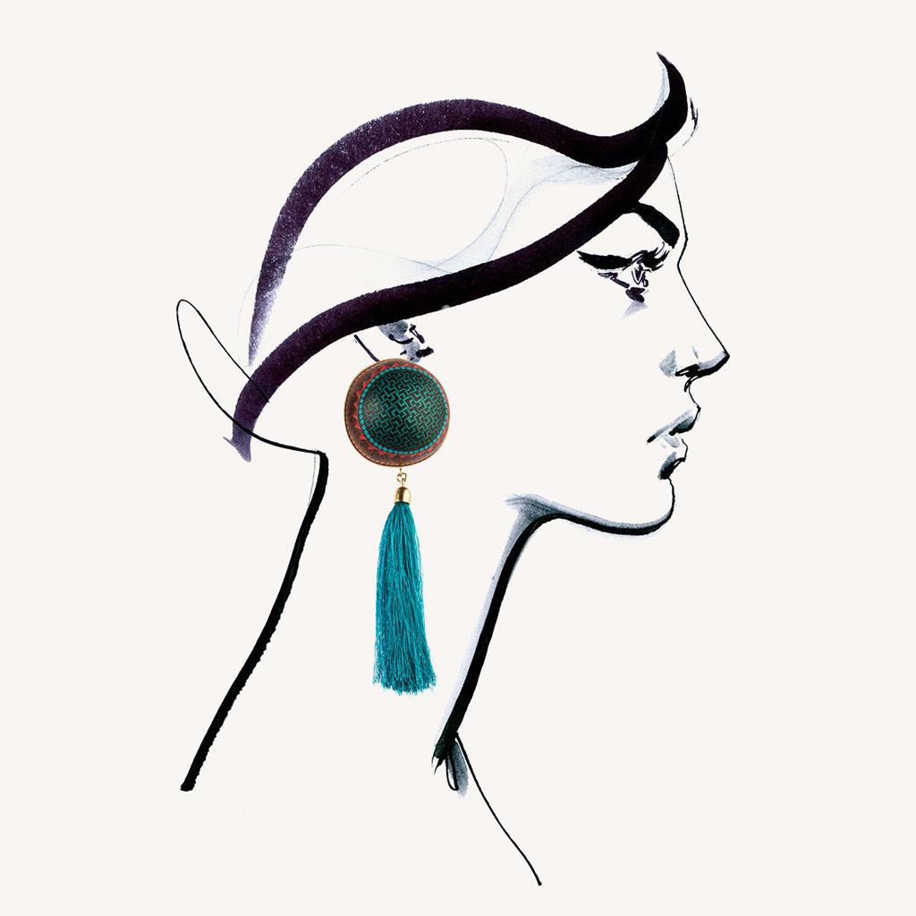 ORSKA, Meksyk, biżuteria, kolczyki, Niezła sztuka
