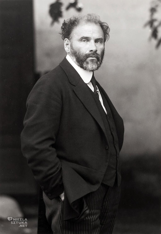 Gustav Klimt, fotografia, Austria, sztuka austriacka, Niezła Sztuka