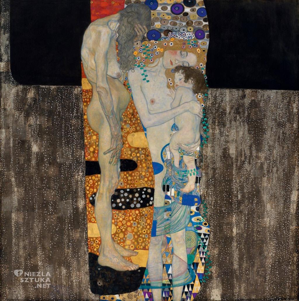 Gustav Klimt, Trzy etapy życia kobiety, secesja, Niezła sztuka