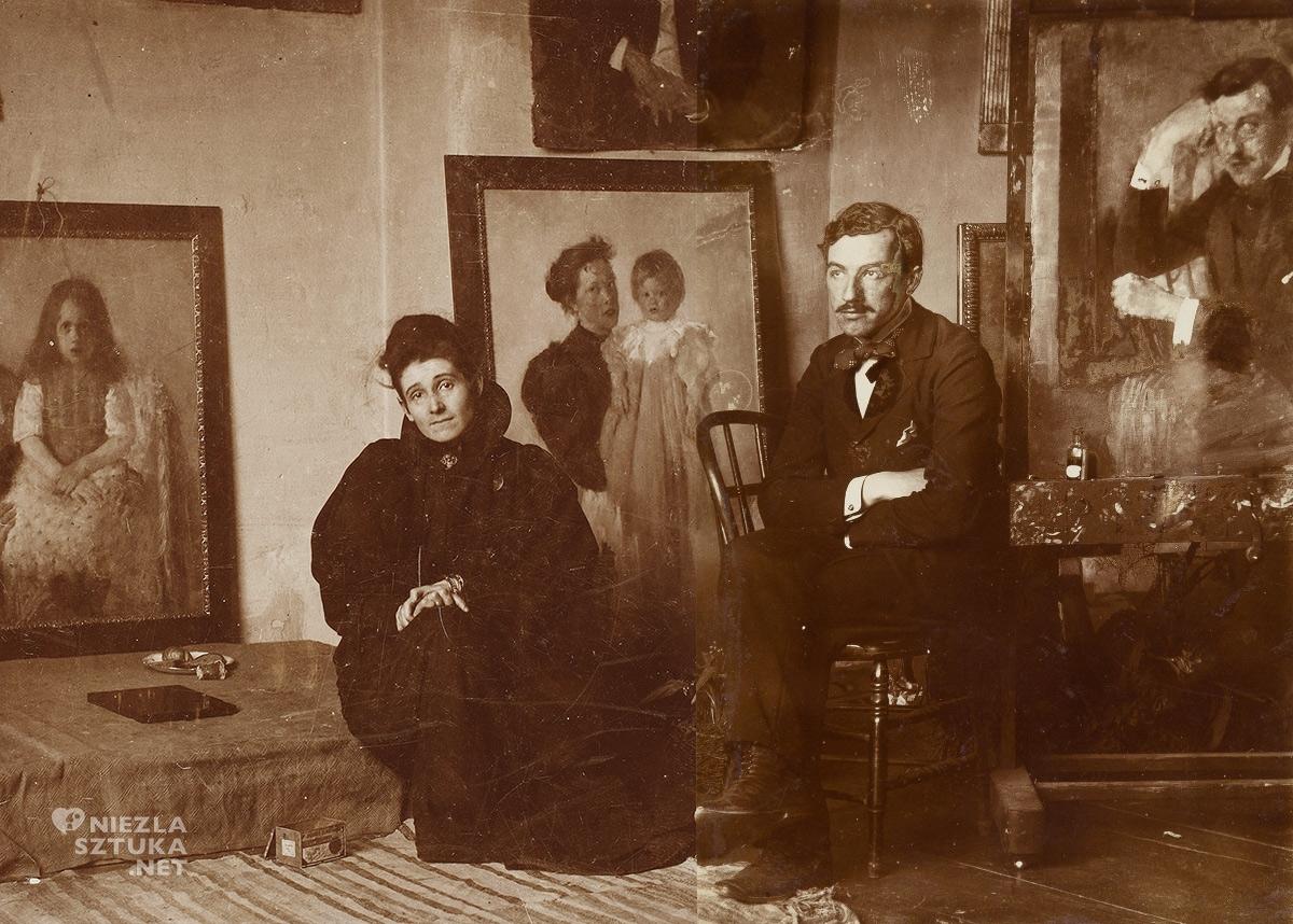 Olga Boznańska i Józef Czajkowski, Monachium, Niezła sztuka