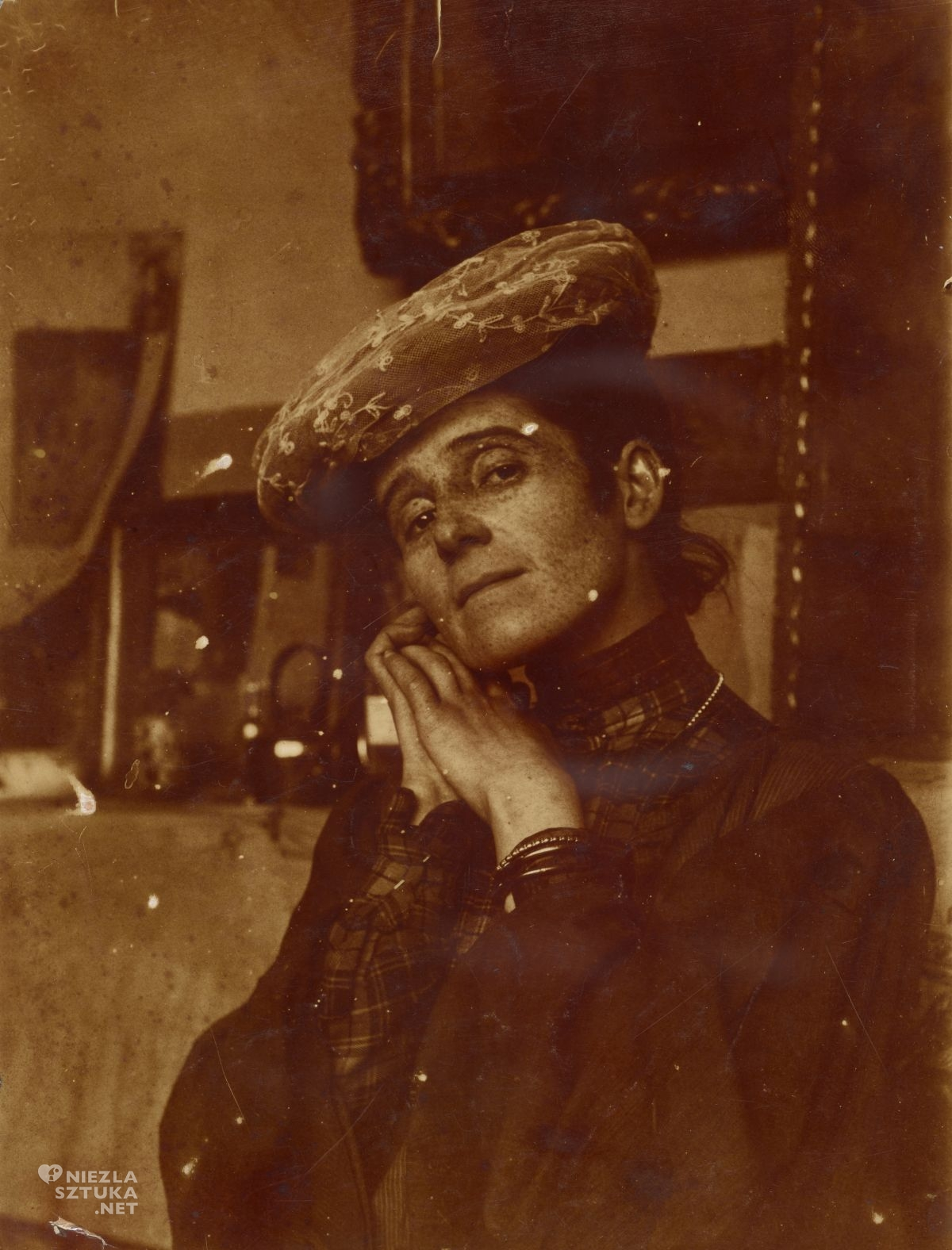 Olga Boznańska, portret, fotografia, Niezła sztuka