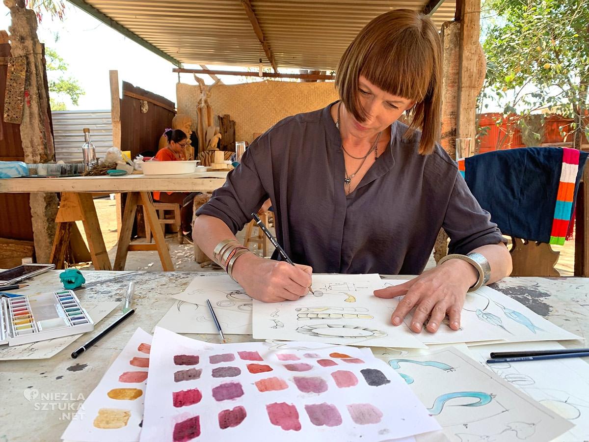 Anna Orska w Meksyku, biżuteria, ORSKA, Niezła sztuka